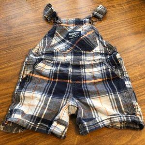 Oshkosh shorts overalls